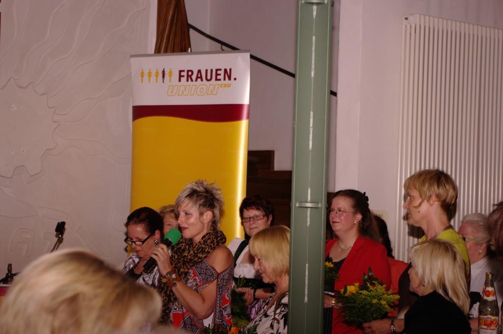 """Nantia Persch informiert und steht für """"Ganz Frau sein"""""""