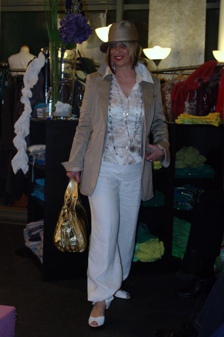 Linde in weiß und creme,,die Farbkombi für 2009