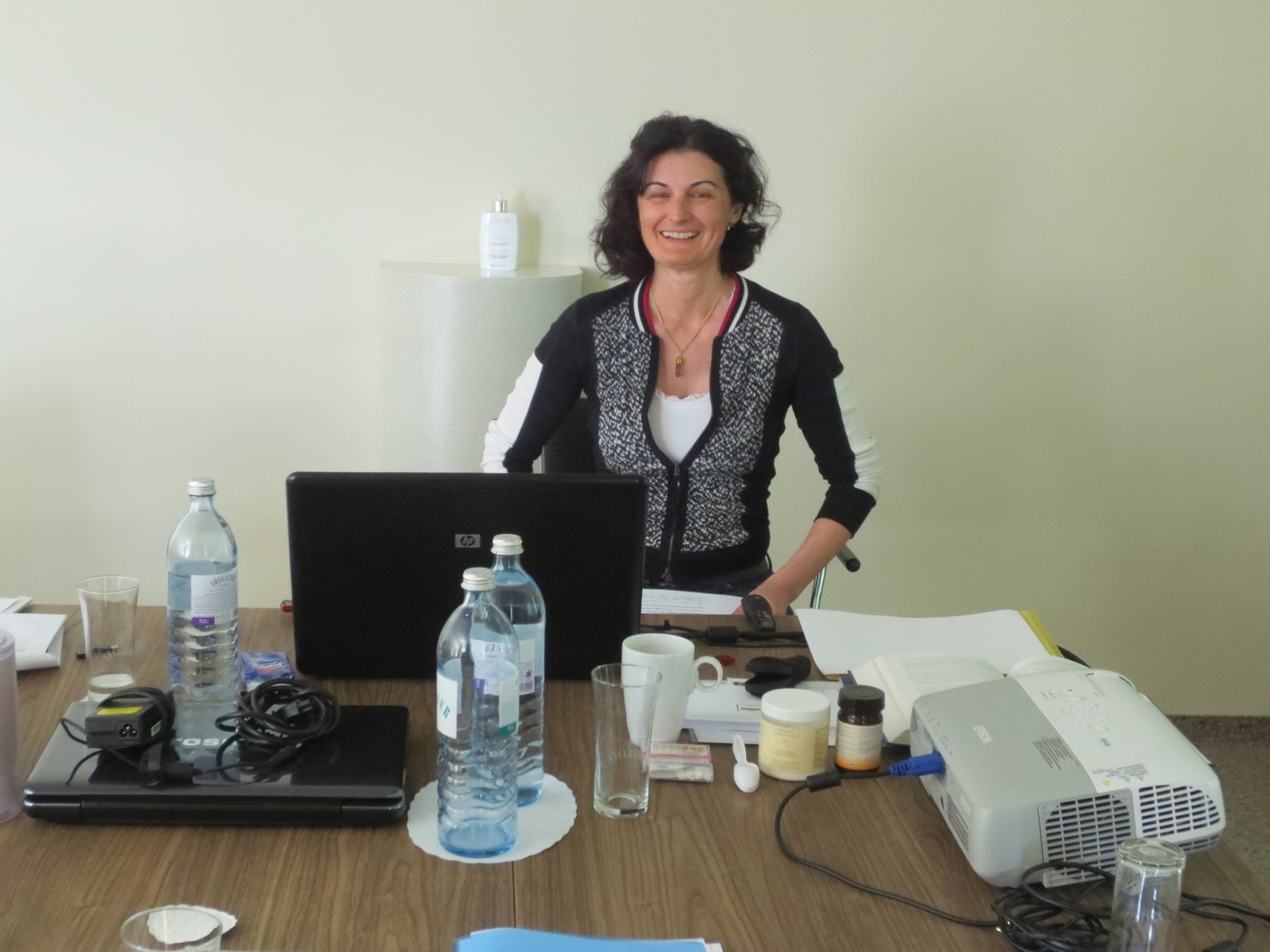 "Lorena Laffranchini Bonanomi, dipl. Terapista Complementare und dipl. Straight Vitalogistin E.S.S.V.: Referat über den ""Säuren-Basen-Haushalt des Menschen"""