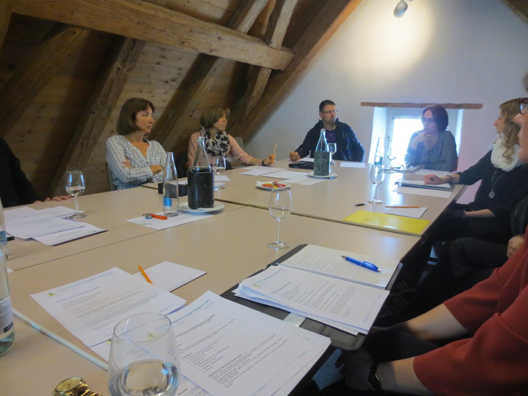 Die teilnehmenden Verbandsmitglieder.., aufgenommen im Zuge der Traktandenabhandlung an der HV VDSV 2016