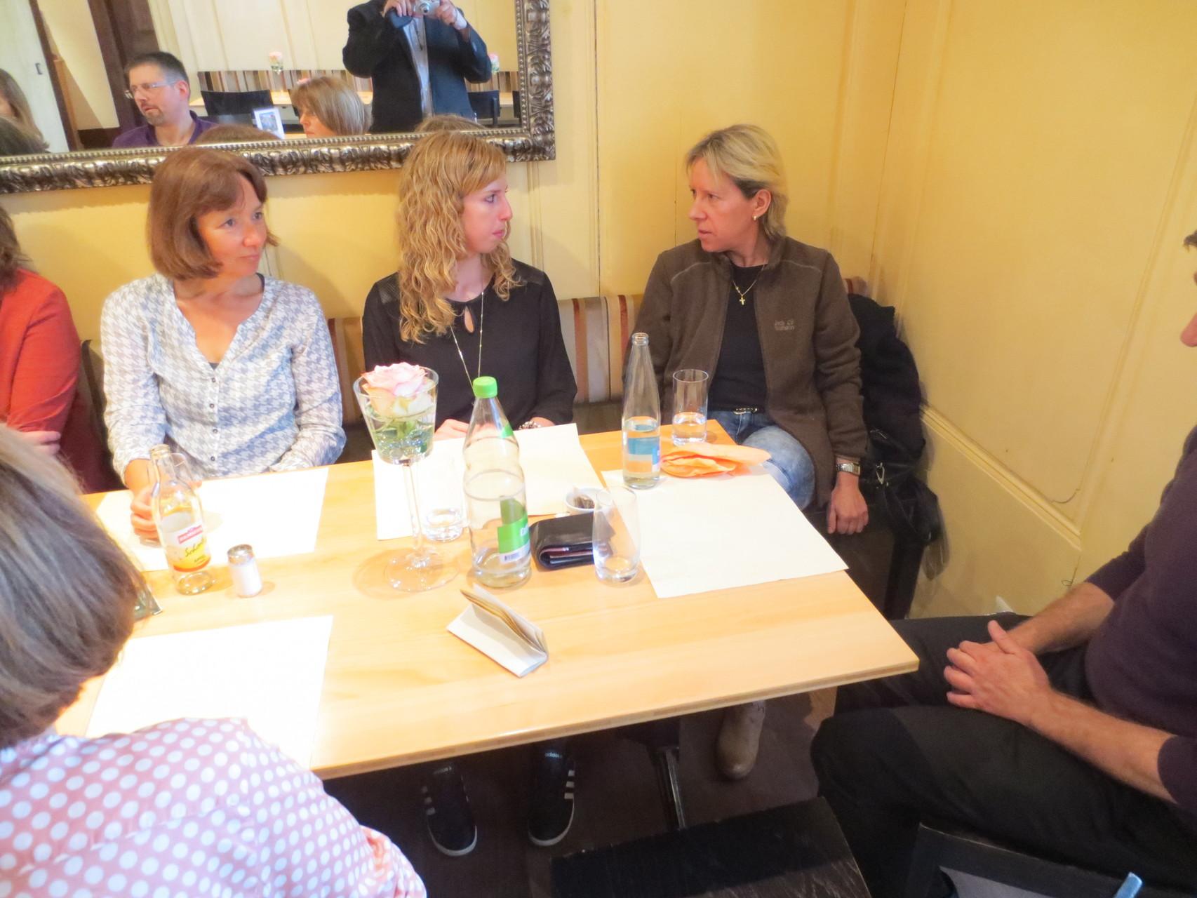 VDSV-Business-Lunch: Fachsimpeln nach dem Mittagessen