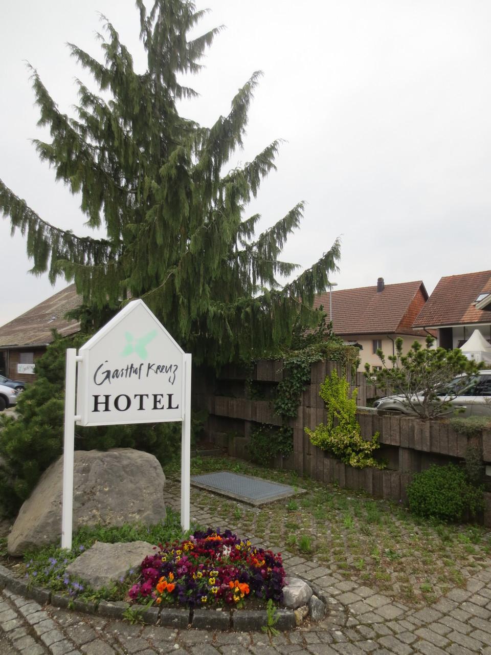 Gasthof Kreuz in CH-Egerkingen; Gastgeber für unsere heurige Verbandszusammenkunft