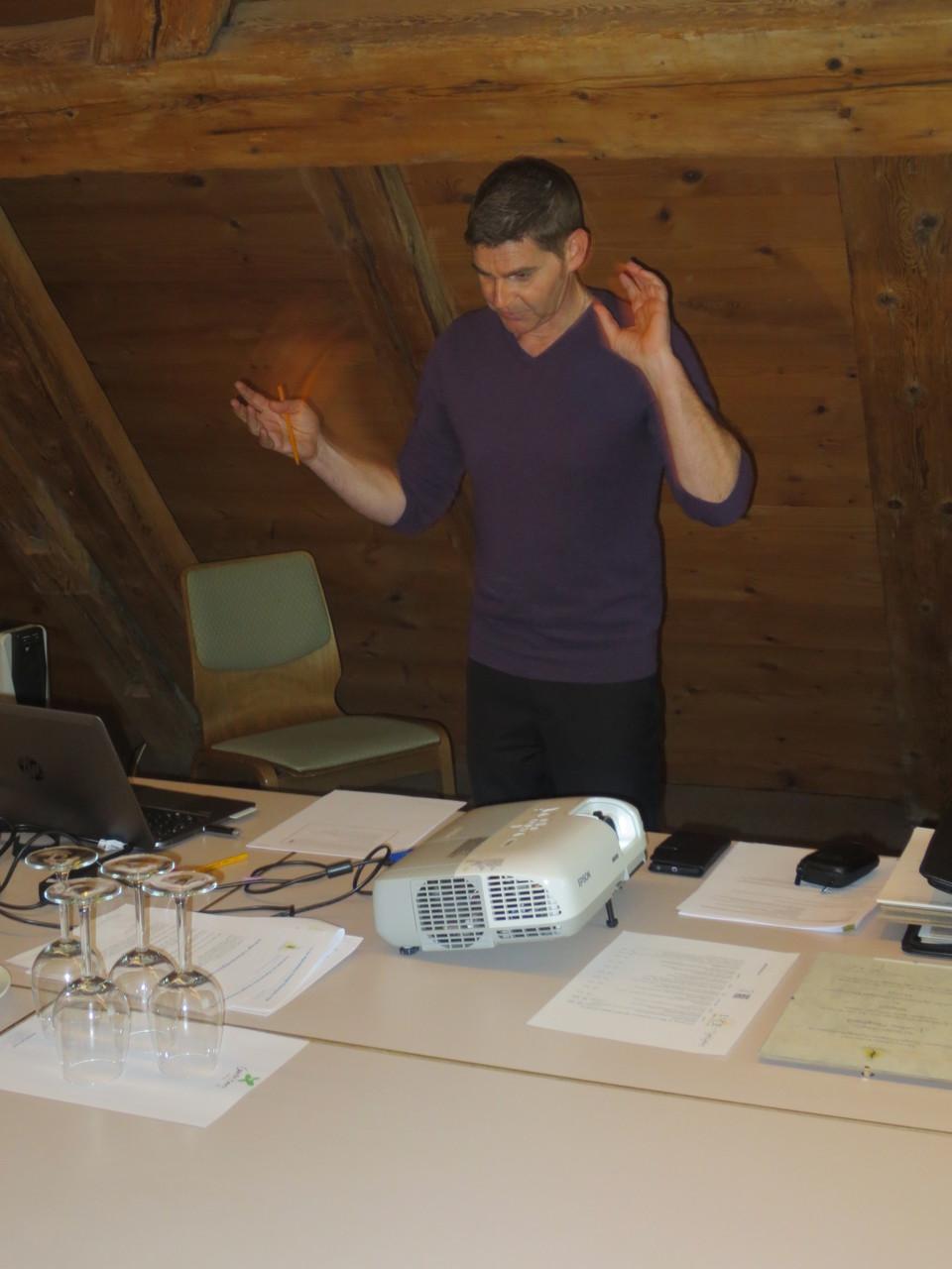 Corrado Oberto, dipl. Straight Vitalogist und dipl. Gesundheitstrainer INAG