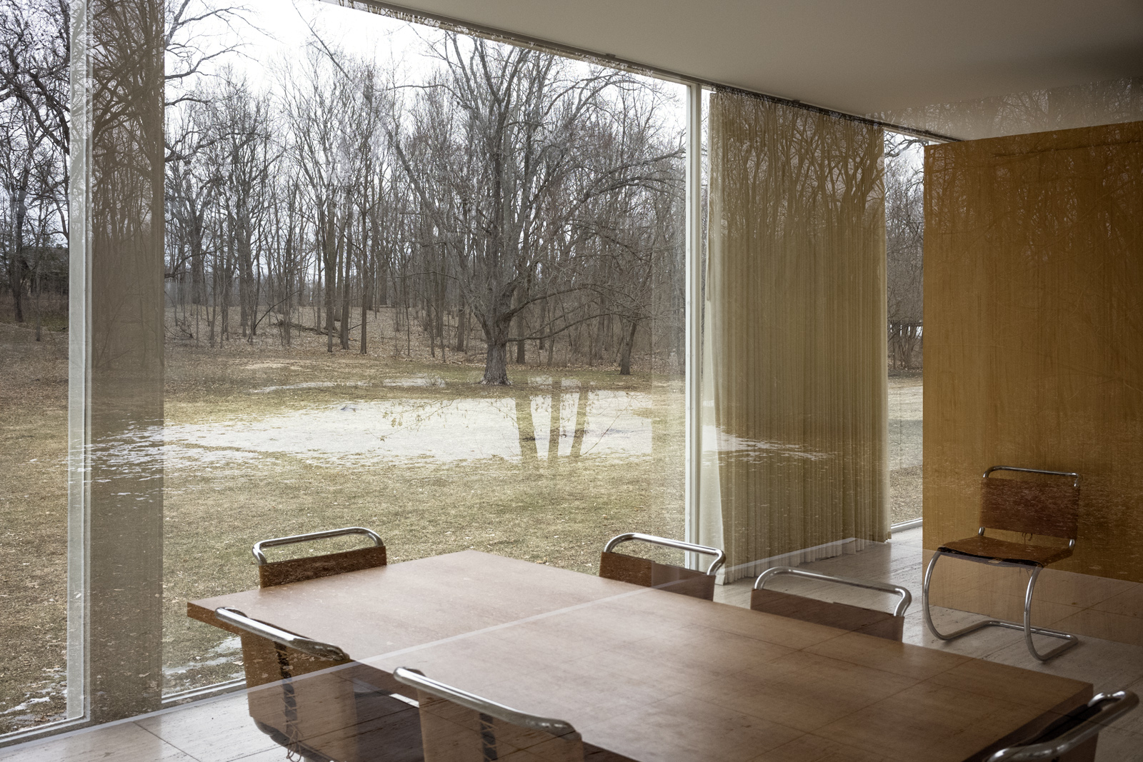Farnsworth House 13 Plano 2019