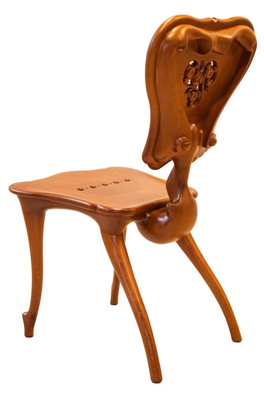 Rèplica cadira Calvet - Antoni Gaudí