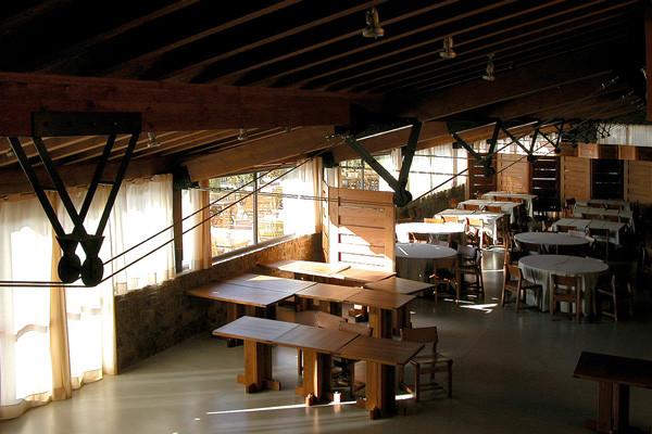 El Montanyà II restaurant roof
