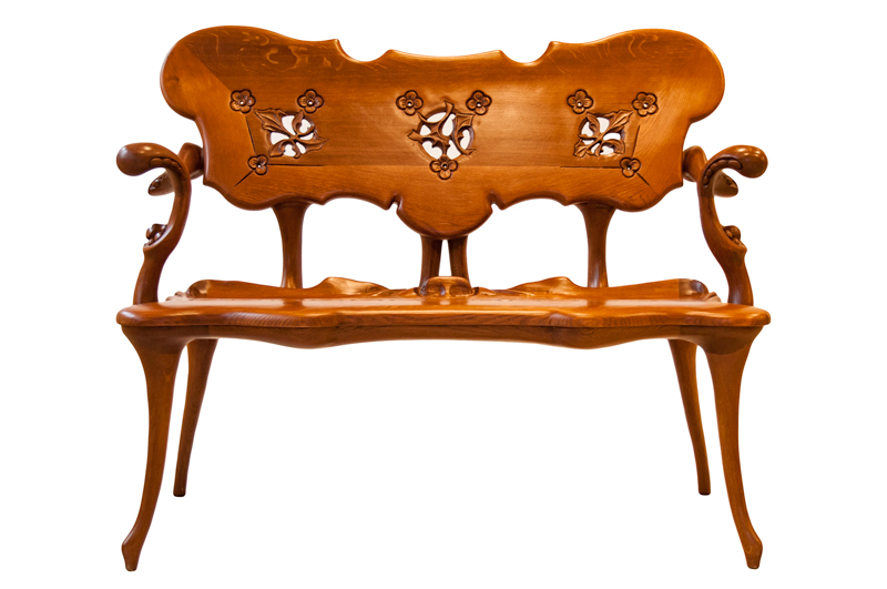 Calvet bench reproduction - Antoni Gaudí