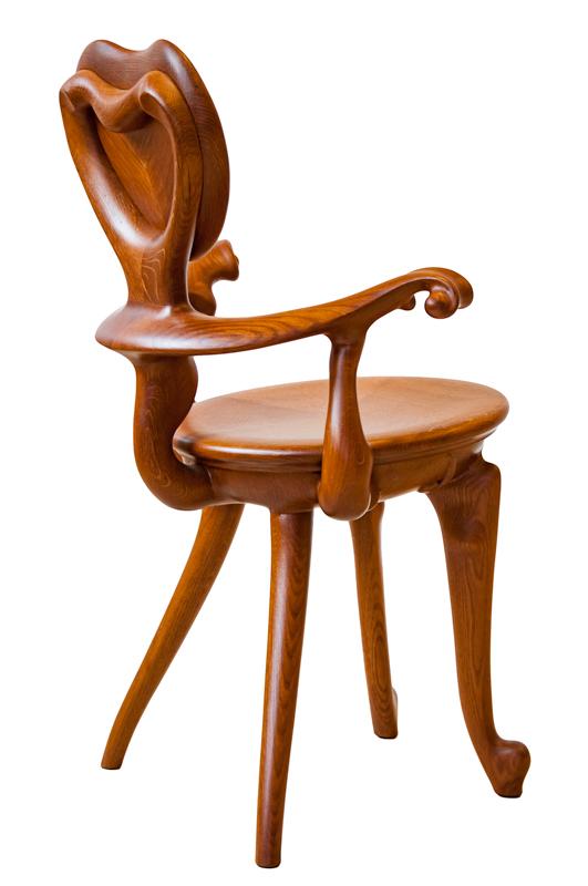 Réplica sillón Calvet - Antoni Gaudí