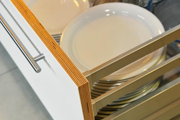 Kitchen drawer detail