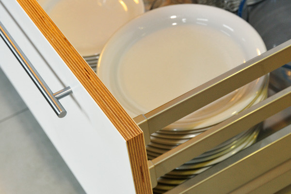 Detalle de cajón de cocina