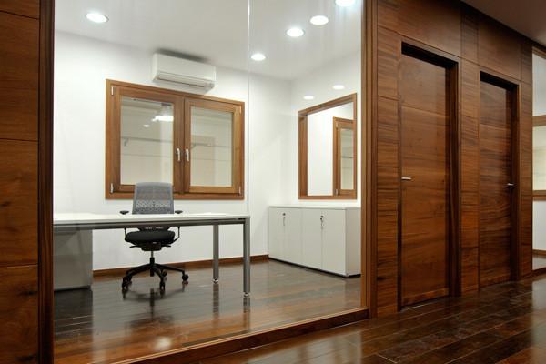 Carpintería interior oficinas