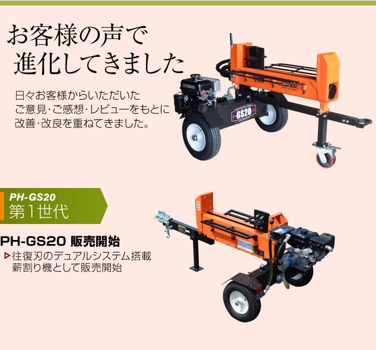 薪割り機 GS20B