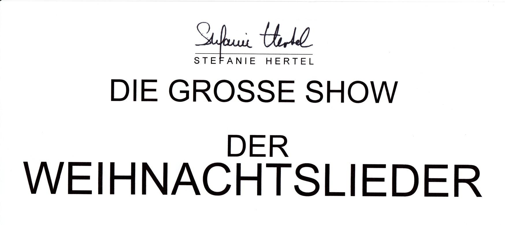 Duett Videos aus der Sendung - Stefanie Hertel Fanpage