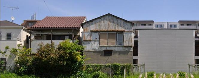 古くなった空き家