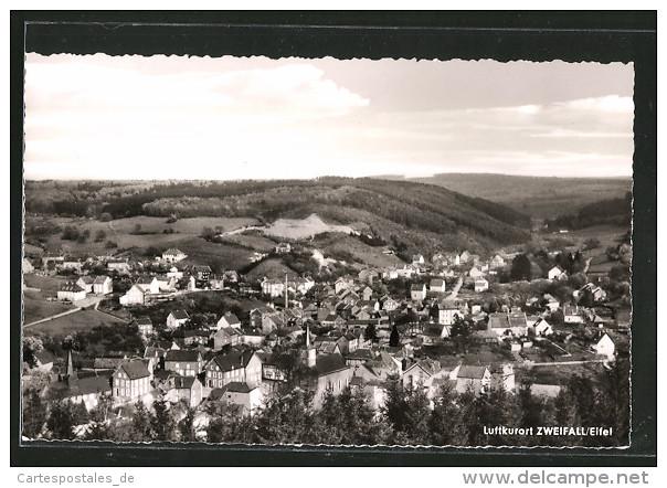 Historische Postkarte von Zweifall