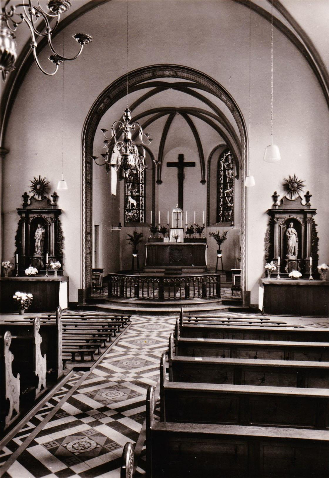 Katholische Kirche St. Rochus vor Anbau