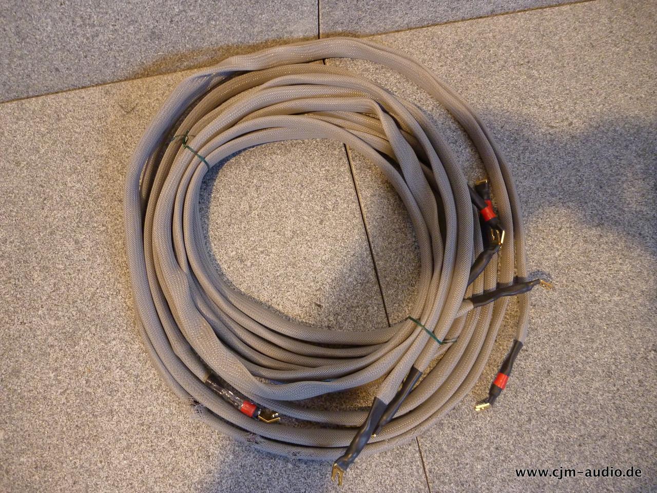 Bastanis Lautsprecherkabel 4x 2,7 m - cjm-audio High End Audiomarkt ...