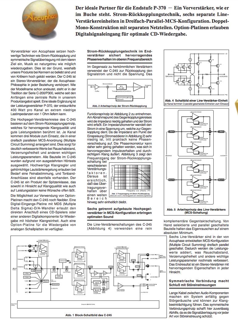 Accuphase II - cjm-audio High End Audiomarkt für Gebrauchtgeräte