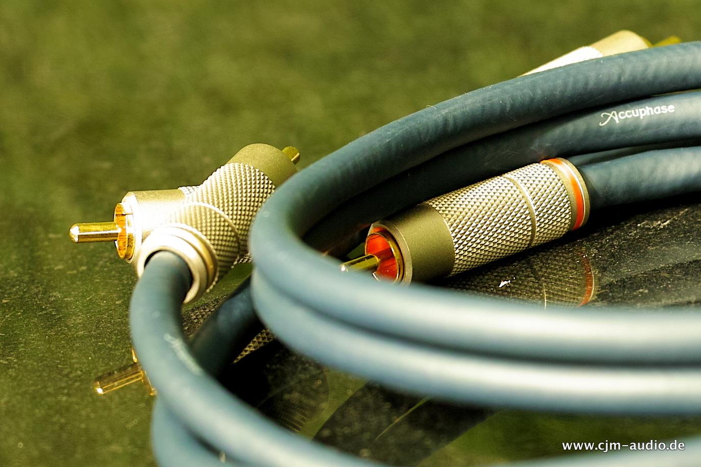 Cinch Kabel - cjm-audio High End Audiomarkt für Gebrauchtgeräte