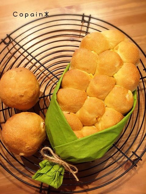 コーンのちぎりパン