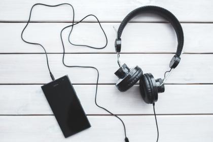 Kopfhörer und Bass Booster
