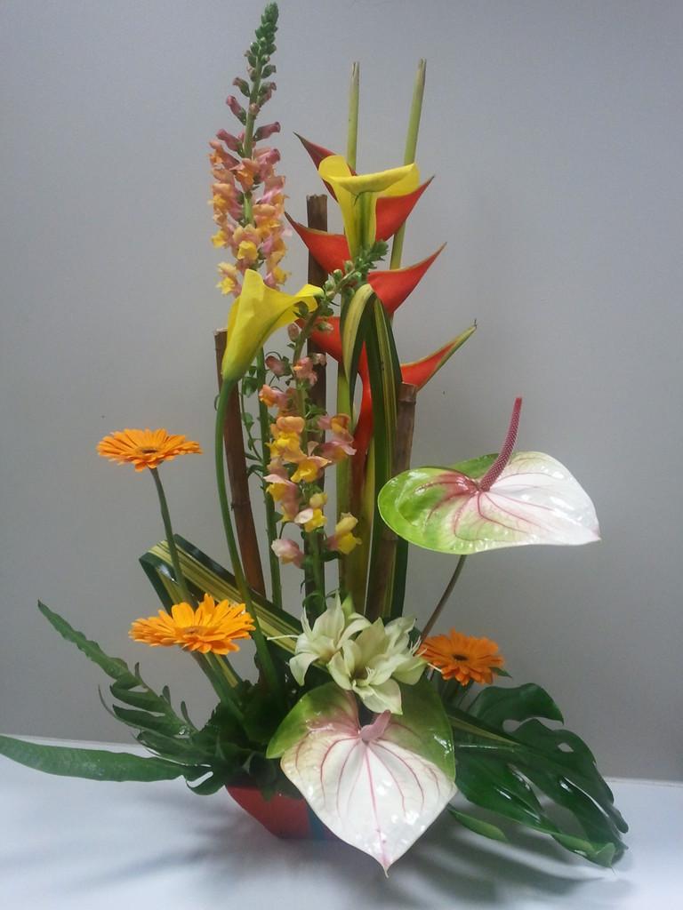 Composition des fleurs des fleurs etc francheville for Vente de fleurs en ligne