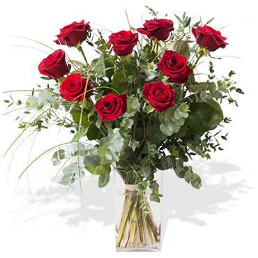 Bouquet rubis des fleurs des fleurs etc francheville for Vente de fleurs en ligne