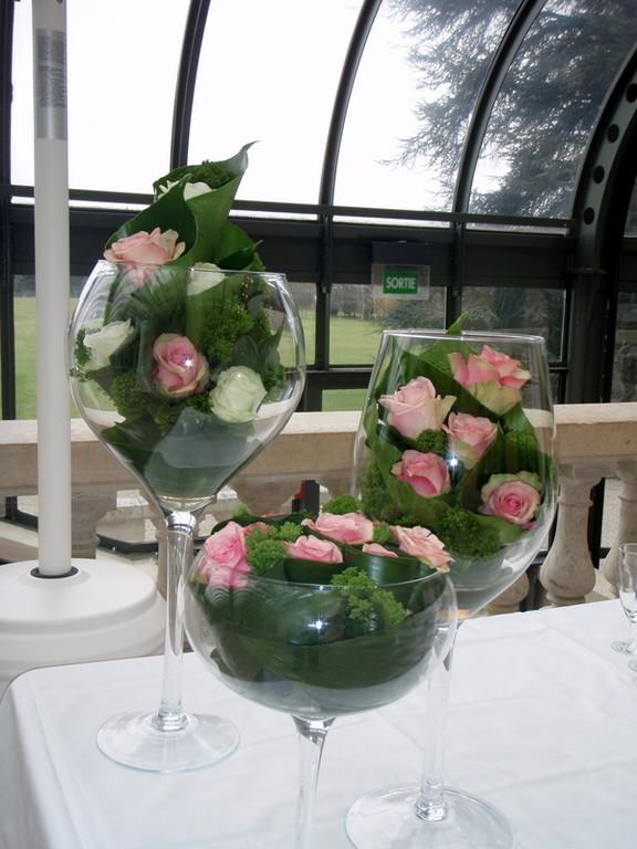 Centre de table mariage (ou fête)