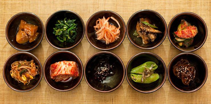 Koreanisches Gemüse gilt als sehr gesund.