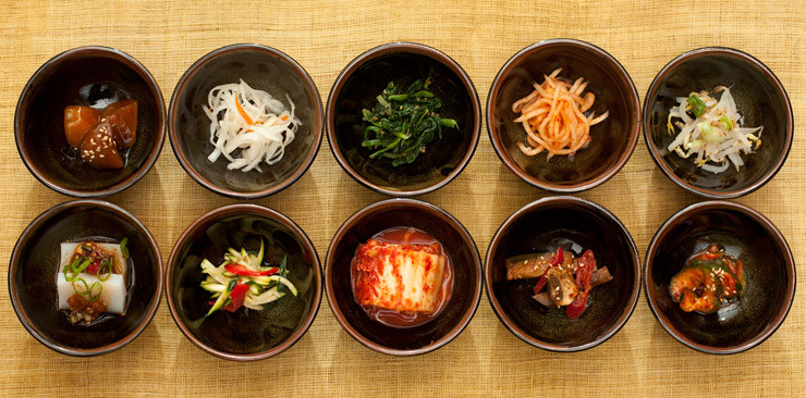 Korean vegetables is healthy.