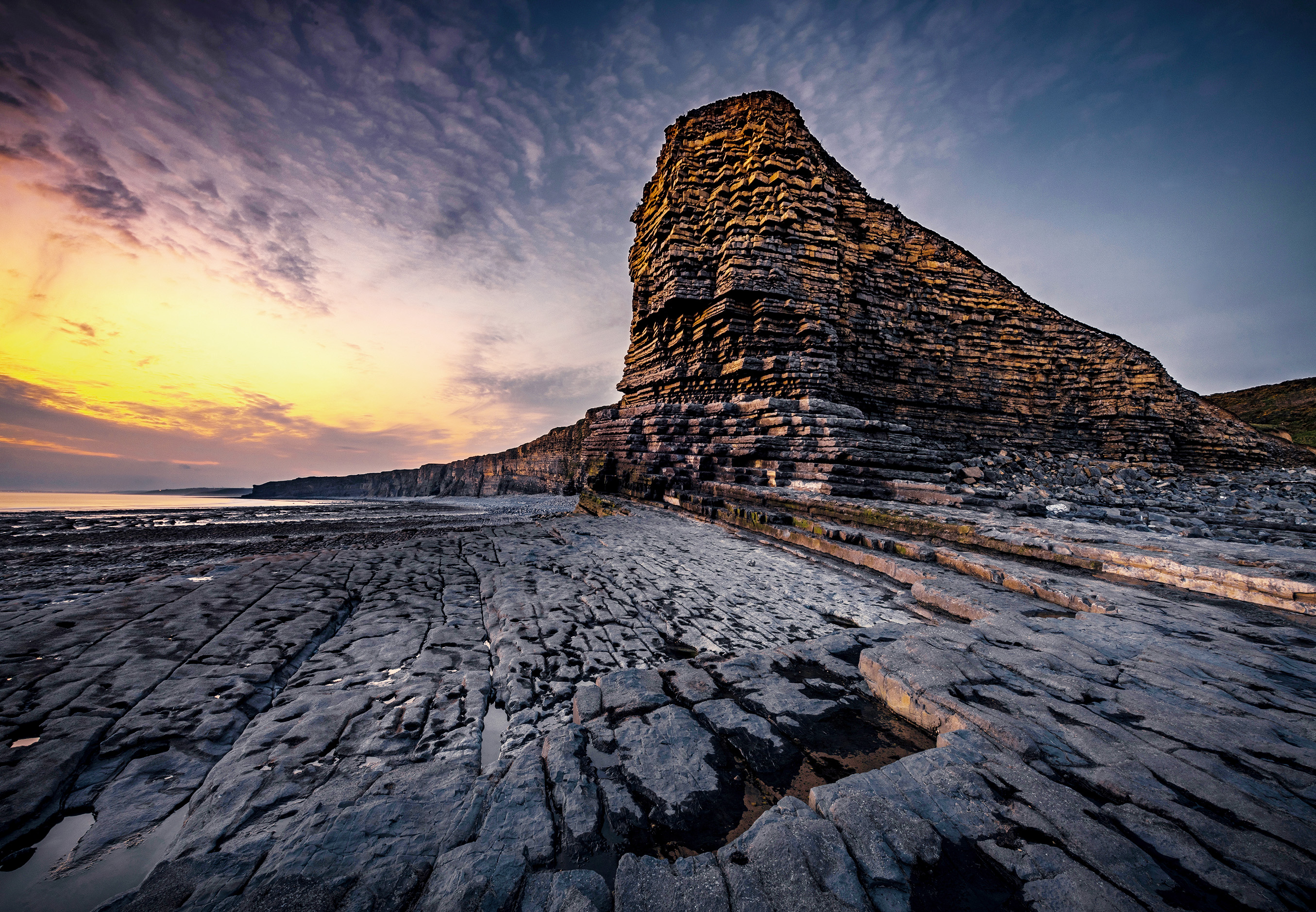 Wales, Nash Point, Sebastian Kaps