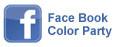 フェイスブックのカラーパーティーへ