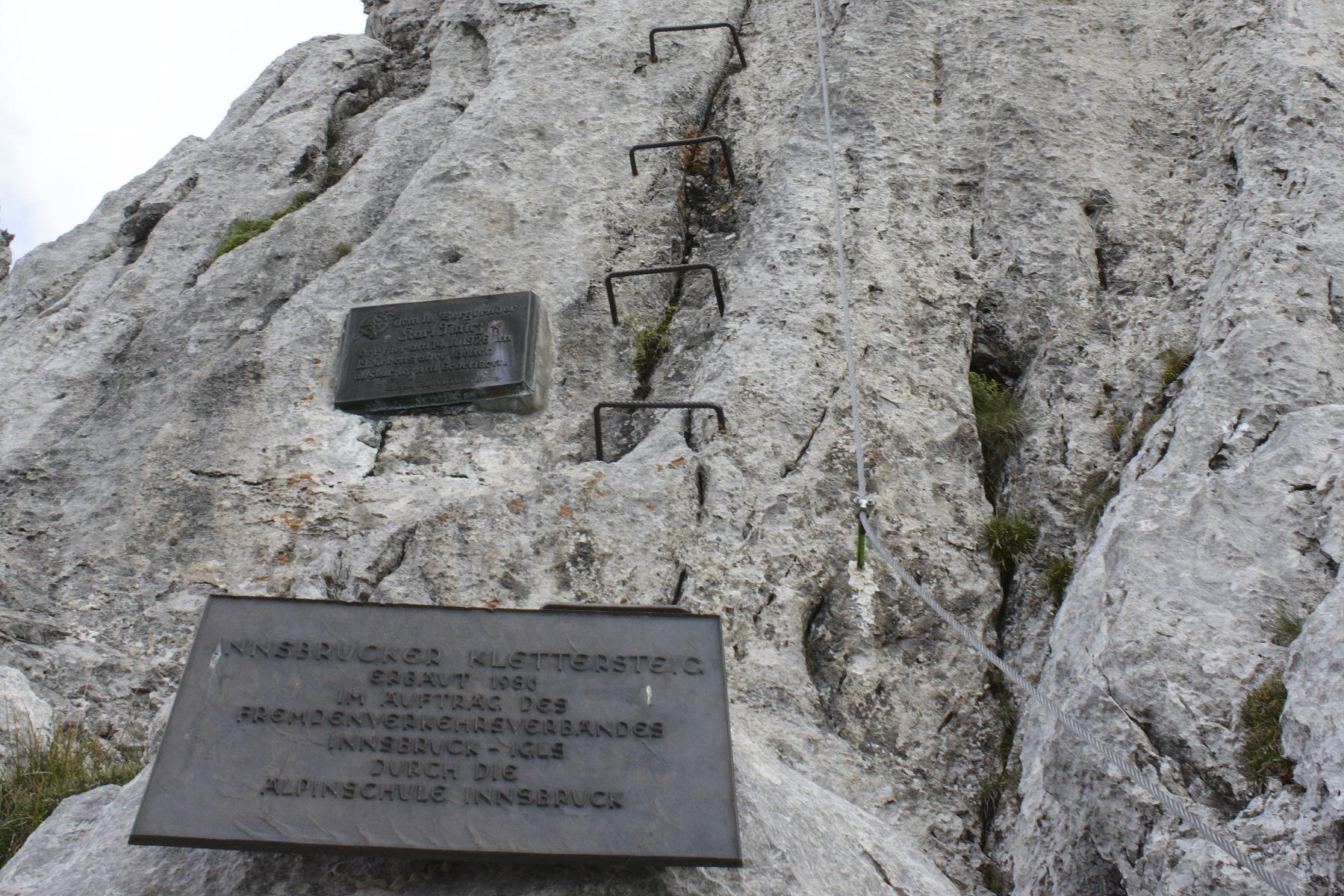 Klettersteig Innsbruck : Innsbrucker klettersteig karwendelfotos