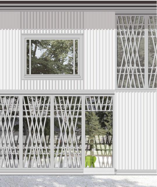 Kita und Ausstellungsraum Villa Sträuli, Winterthur  Buchmann-Kollbrunner-Stiftung / Stiftung Sulzberg, Hopf & Wirth Architekten