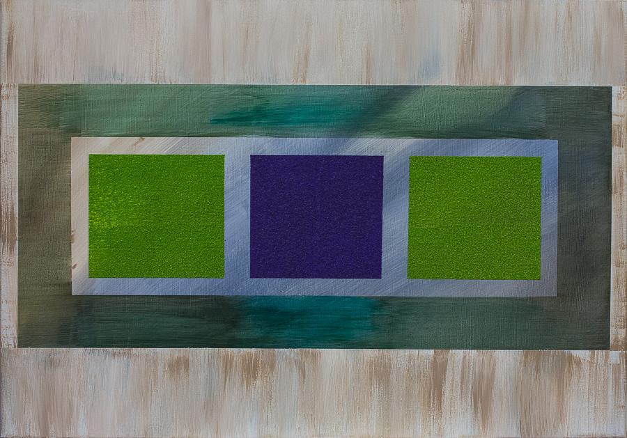 """""""Durchblick""""          Acryl     50 x 70 cm"""