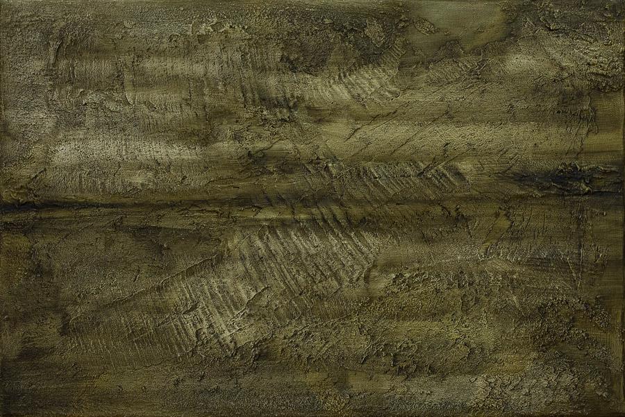 """""""Die Unendlichkeit""""          Öl + Acryl + Mixed Media     50 x 70 cm"""