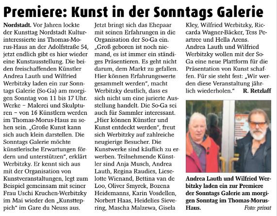 Stadt Kurier, Neuss    20.10.2018