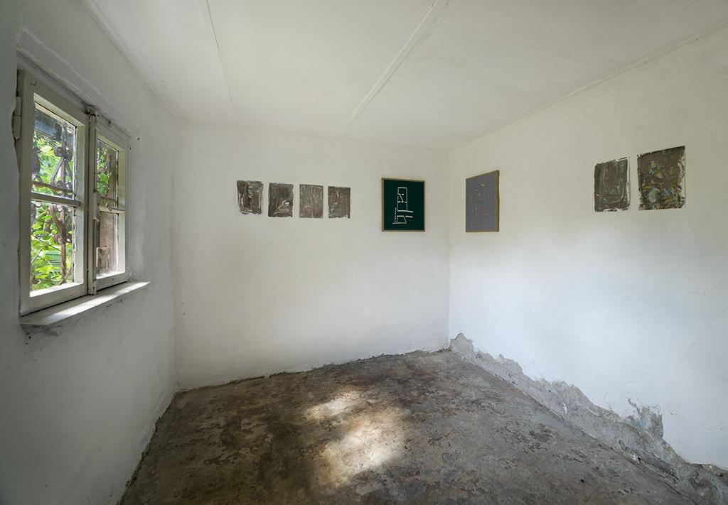 Christian Aberle, Ausstellung, Malerei, Kunstraum K634, Köln, 2018