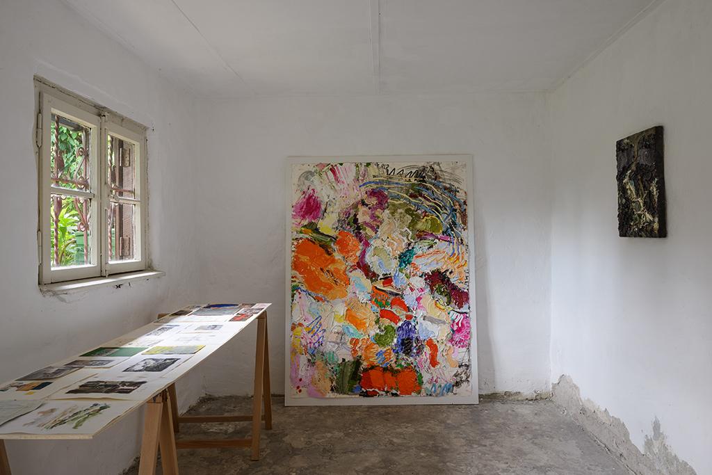 Michael Toenges, Ausstellung, Kunstraum K634, Köln, Malerei, 2014