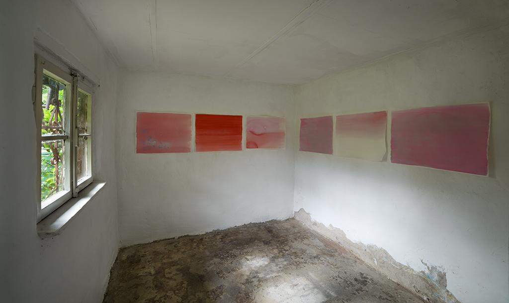 Andreas von Ow, Ausstellung, Malerei, Kunstraum K634, Köln, 2017