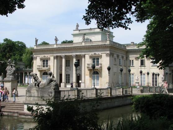 Warsaw - Łazienki Królewskie Park-Palace Complex