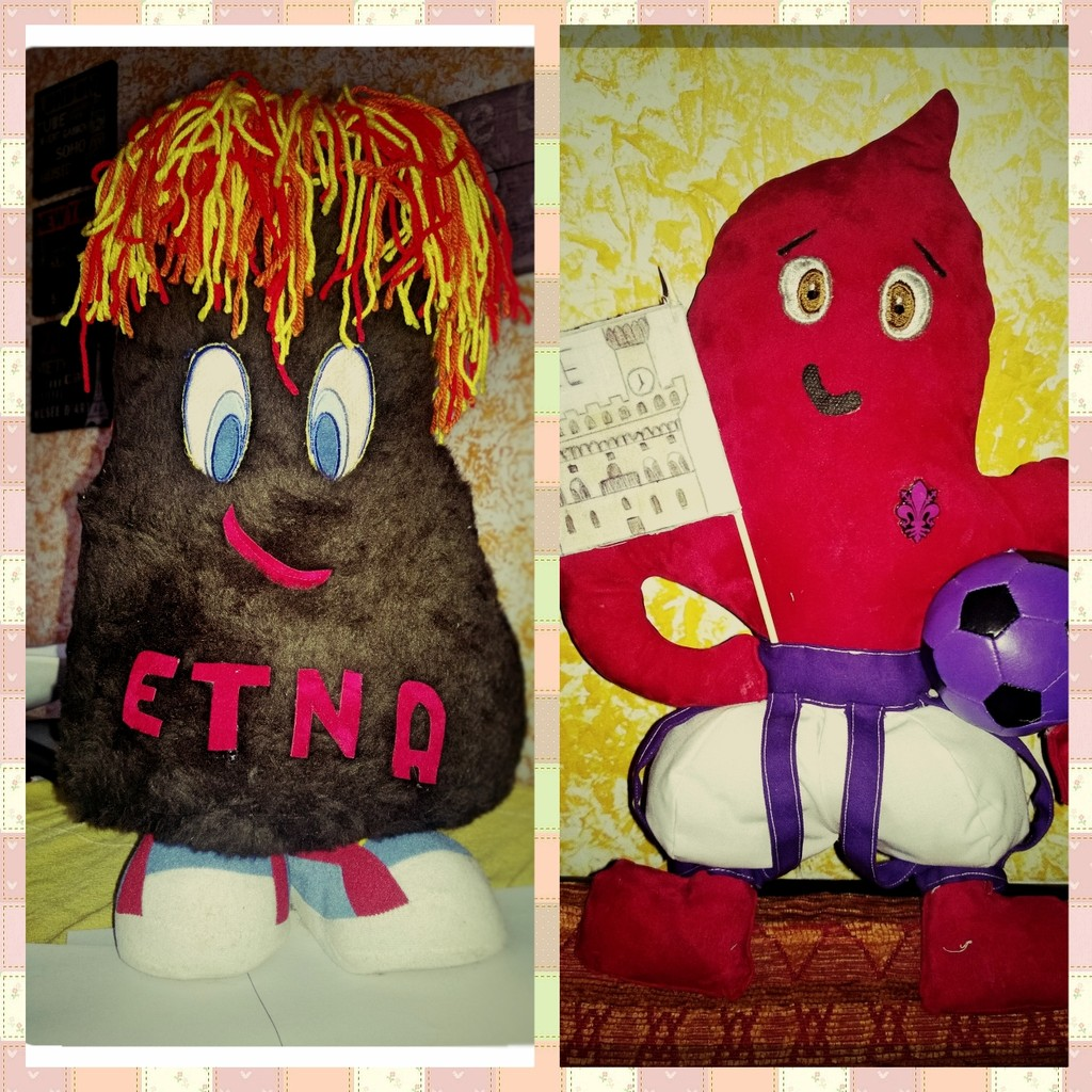 Etna&Fiorino: italian mascots
