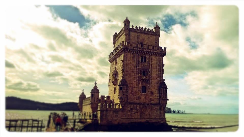 Belem town in Lisbon