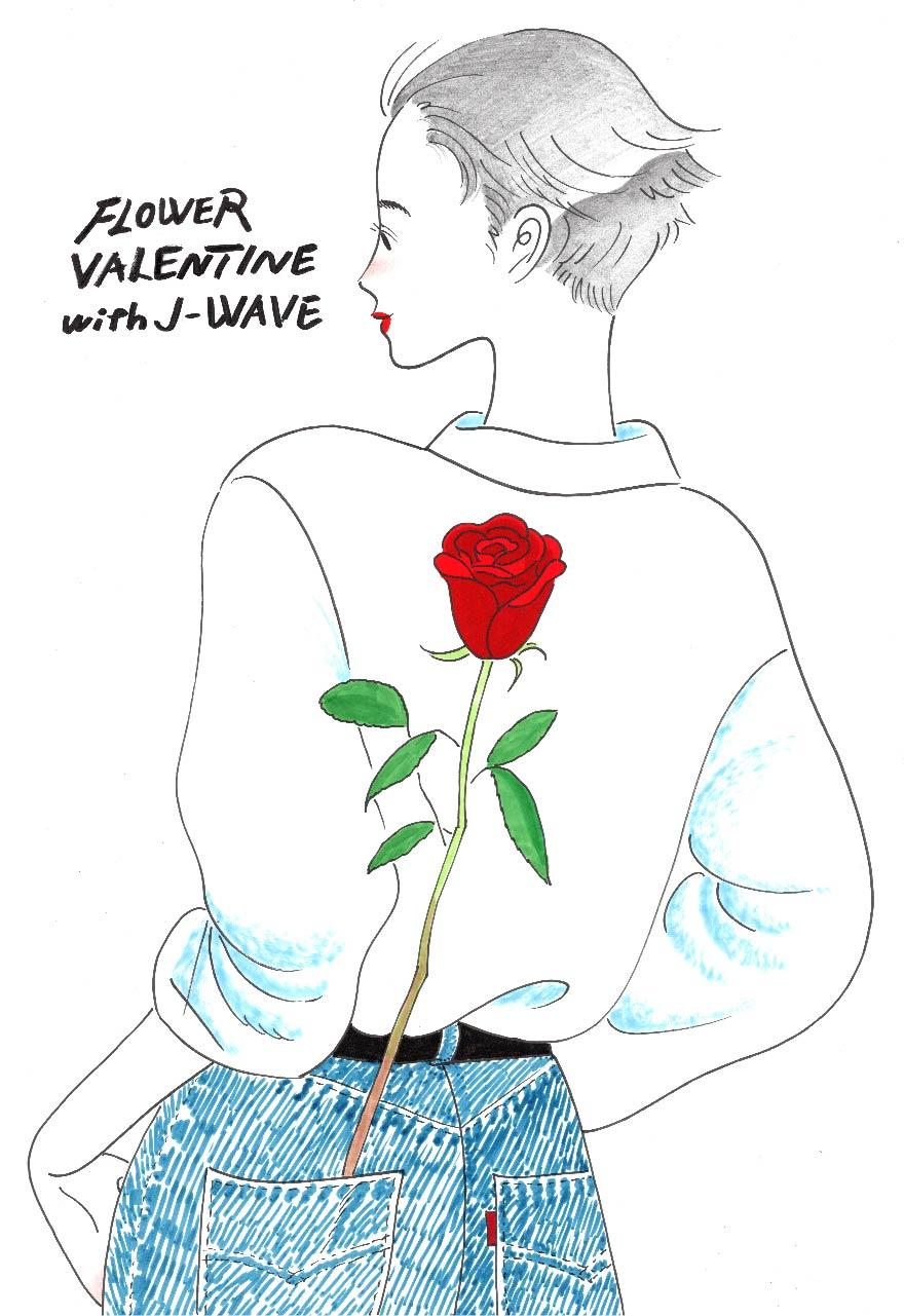今月は「フラワーバレンタイン」!