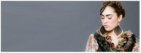 Haare & Make-up / Schülerin: Alexandra M. | Model: Raphaela Pinto c/o JAVA Model Management | Fashionstyling: Nickangel Foto: Markus Thiel Produktion: Bloos Make up Schule