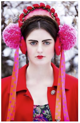 red - Hair & Make-up / Schülerin: Sarah Sch. Model: Fabienne c/o JAVA Model Management Styling: In Sachen Stil Foto: Markus Thiel