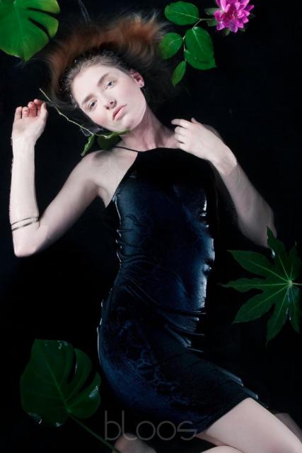 Haare & Make-up von Schülerin: Eva  Model: Diana Agency: JAVA Model Management Produktion: bloos Make-up & Hair Academy Foto: Markus Thiel