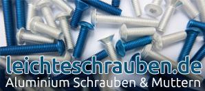 Aluminium Schrauben, Aluminium Mutter, Aluminium Hülsen, Abstandshülsen