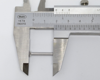 Flat Head Screw, measure length correctly