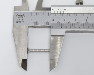 Flat Head Screw, measure length correctly